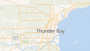Carte en ligne de Thunder Bay