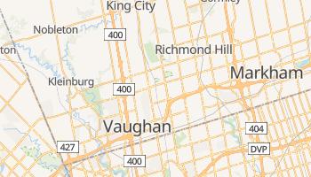 Carte en ligne de Vaughan