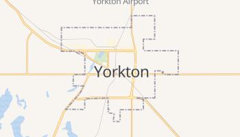 Carte en ligne de Yorkton