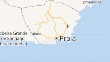 Carte en ligne de Praia