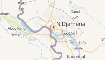 Carte en ligne de Ndjamena