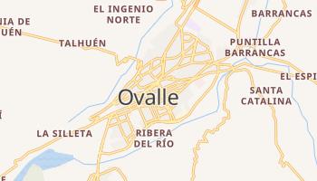 Carte en ligne de Ovalle