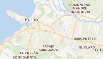 Carte en ligne de Pucón