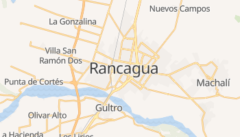 Carte en ligne de Rancagua