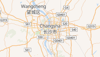 Carte en ligne de Changsha