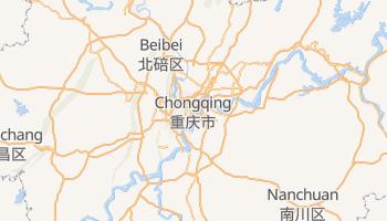 Carte en ligne de Chongqing