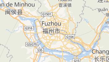 Carte en ligne de Fuzhou