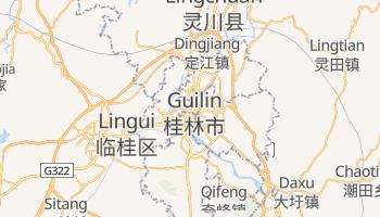 Carte en ligne de Guilin