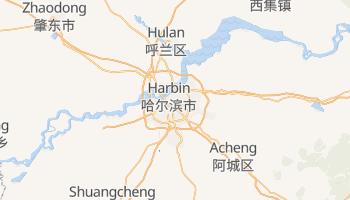 Carte en ligne de Harbin
