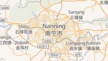 Carte en ligne de Nanning