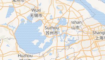 Carte en ligne de Suzhou
