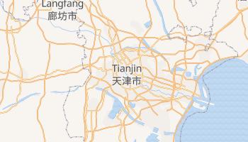 Carte en ligne de Tianjin