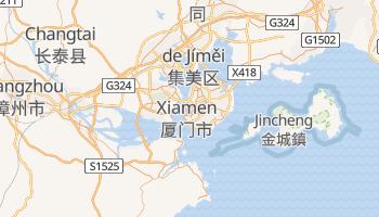 Carte en ligne de Xiamen