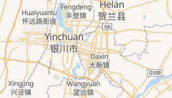 Carte en ligne de Yinchuan