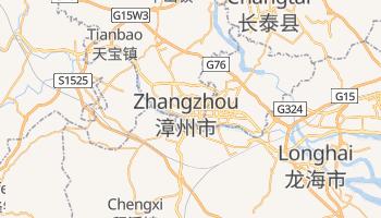 Carte en ligne de Zhangzhou
