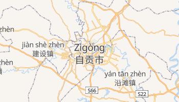 Carte en ligne de Zigong