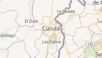 Carte en ligne de Cúcuta
