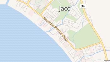 Carte en ligne de Jaco