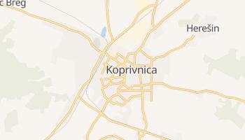 Carte en ligne de Koprivnica