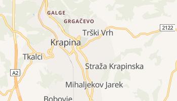 Carte en ligne de Krapina