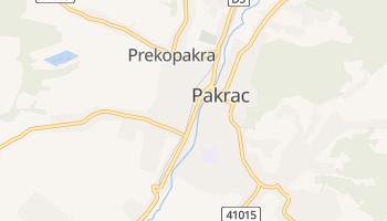 Carte en ligne de Pakrac
