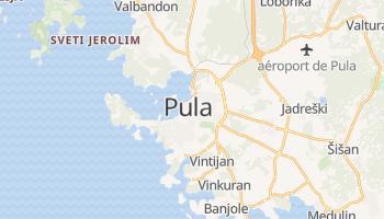 Carte en ligne de Pula
