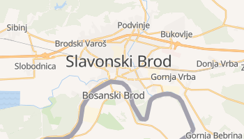Carte en ligne de Slavonski Brod