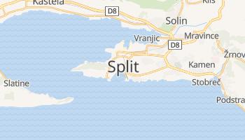Carte en ligne de Split