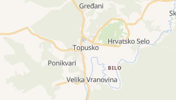 Carte en ligne de Topusko