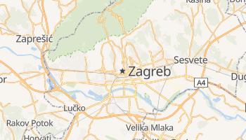 Carte en ligne de Zagreb