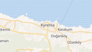 Carte en ligne de Kyrenia