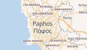 Carte en ligne de Paphos