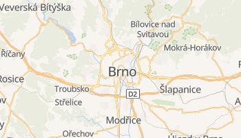 Carte en ligne de Brno