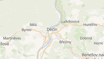 Carte en ligne de Děčín