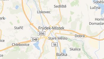 Carte en ligne de Frýdek-Místek