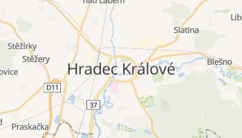 Carte en ligne de Hradec Králové