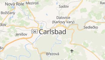 Carte en ligne de Karlovy Vary