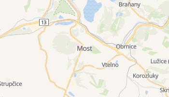 Carte en ligne de Most