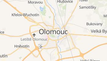 Carte en ligne de Olomouc