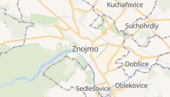 Carte en ligne de Znojmo