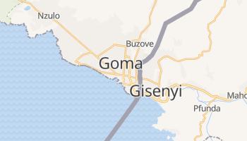 Carte en ligne de Goma