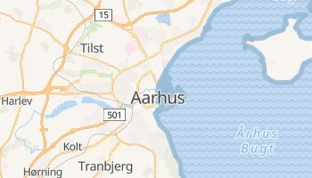 Carte en ligne de Århus
