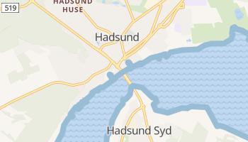 Carte en ligne de Hadsund