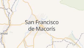 Carte en ligne de San Francisco de Macorís