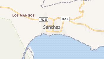 Carte en ligne de Sánchez
