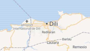 Carte en ligne de Dili