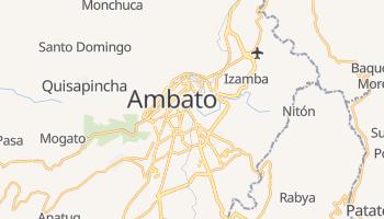 Carte en ligne de Ambato