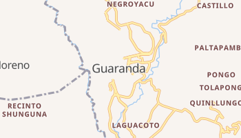 Carte en ligne de Guaranda