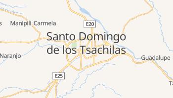 Carte en ligne de Santo Domingo de los Colorados
