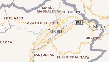 Carte en ligne de Tulcán